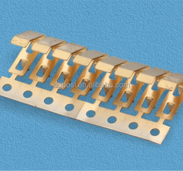 electrical copper contacts stamping parts