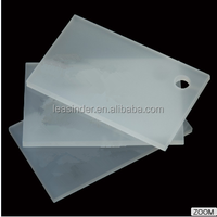 Led sign board acrylic 3mm extruded plastic opal white PMMA sheet
