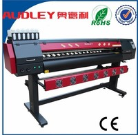 Digital flex printing machine price/DX10 eco solvent printer ADL-1912