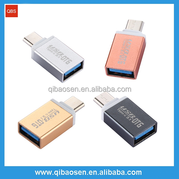 USBC 3.1 type-C male to Female 3.0 USB OTG Adapter Connector For New Macbook