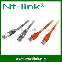 Utp/ftp flat cat6 patch cord