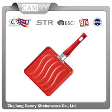 2014 fashion kitchen colorful carbon steel beef steak pan