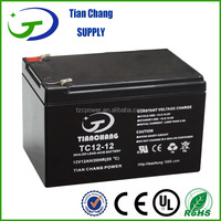 12v12ah battery rechargeable lead acid battery