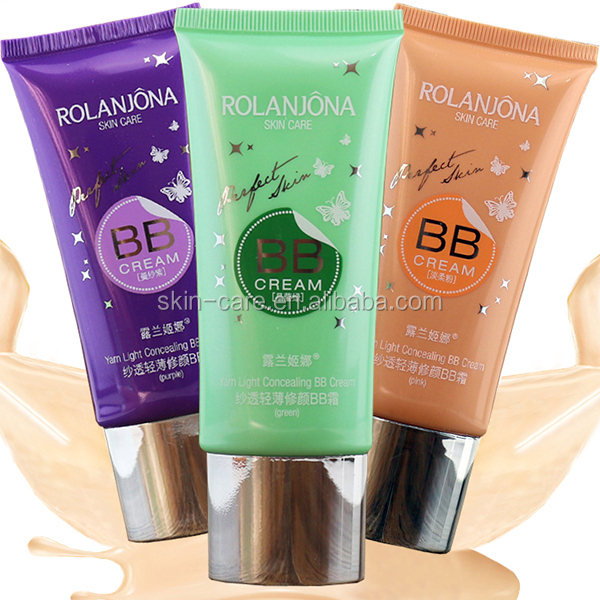 ROLANJONA OBM ODM OEM Private Label waterproof face makeup liquid foundation bb cream