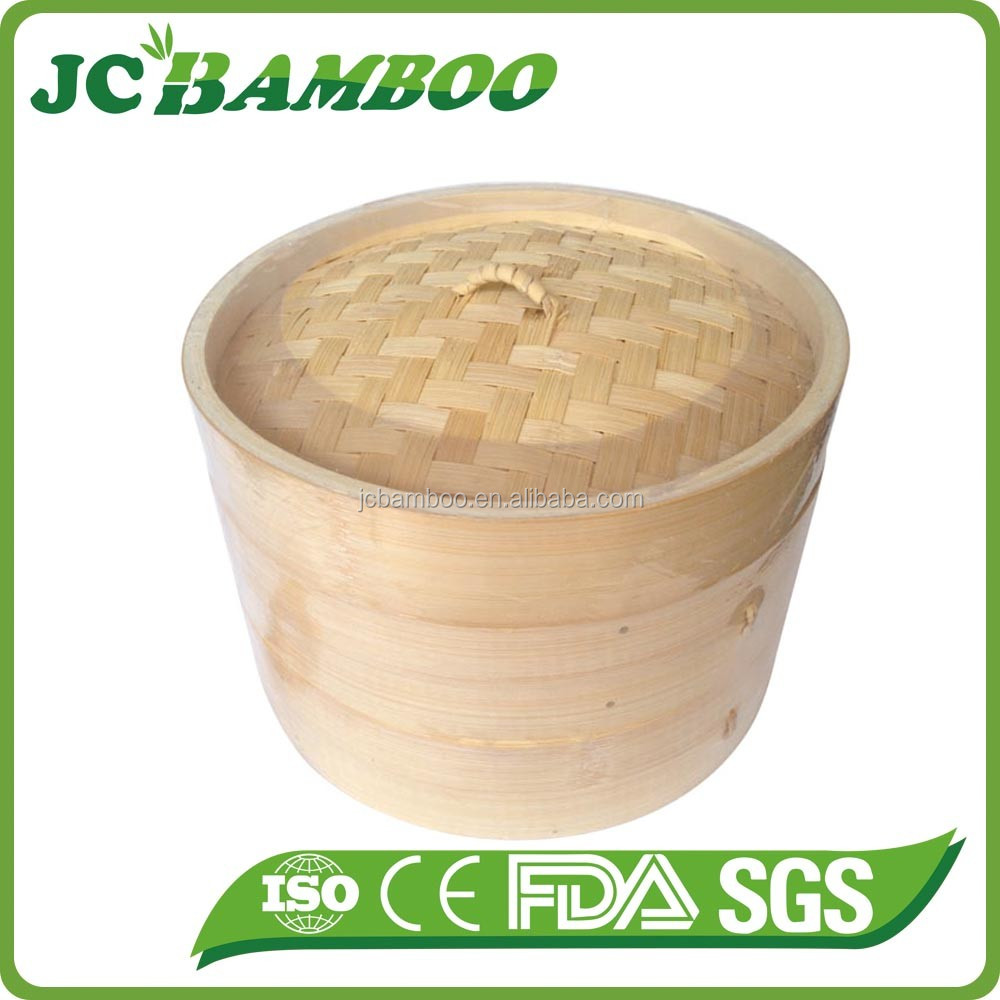 Safe commercial dumpling steamer
