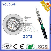 optical power composite cable with steel tape GDTS