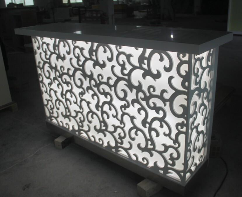Counter Furniture Design : Bar Counter Design,Led Luxury Coffee Counter/cafe Bar Counter Designs ...