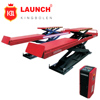 Launch TLT830WA lifting light vehicles under 3.0 tons for vehicle test, service, four-wheel alignment, maintenance or cleaning