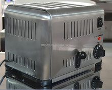 Stainless Steel Commercial 4-Slice Electric Bread Slicer Machine