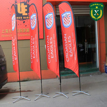 Factory Price Pomotion banner And Flying Advertising Flag