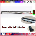 remote control 12v waterproof led light bar with 2 colors strobe