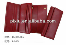 Fashion leather wallets and purses for ladies