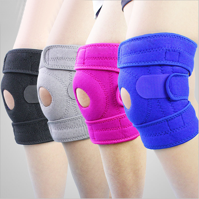 Knee Brace Support Sleeve for Arthritis Meniscus Tear ACL Running Basketball, Sports, Athletic, MCL, Runners Adjustable