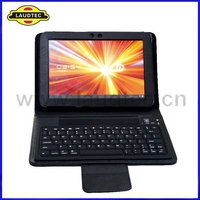2012 Newest For Samsung Galaxy Tab 10.1 P7510 Leather Case With Bluetooth Wireless Keybord