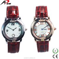 High quality cute western couples wrist watch