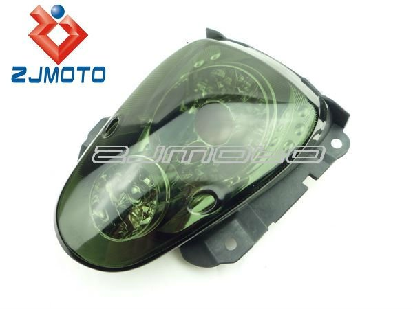Motorcycle LED Taillight Taillamp Brake Light With License Plate Lamp and Reflector For Honda scoopy LED Taillight