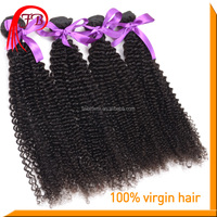 Aiexpress unprocessed virgin human kinky curl expression hair extension