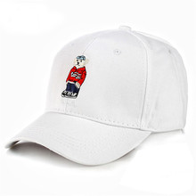 Korean style cartoon embroidery hats children brief usa baseball cap for sale