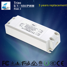 Three years warranty constant voltage 12V 24V 45w led driver for led strips