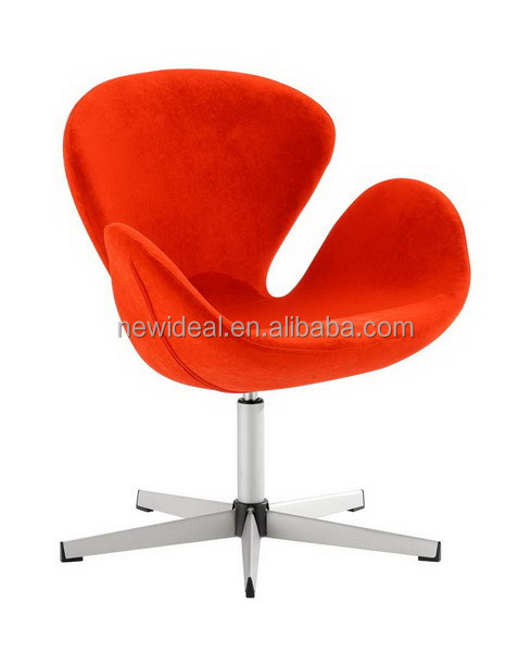 high quality fabric swan chair (NH566)