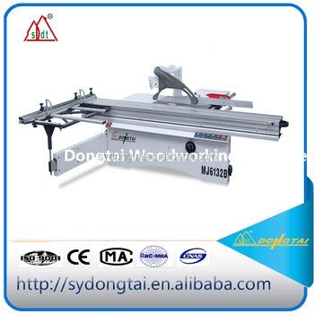 2017 Shenyang DONGTAI horizontal sliding table wood cutting machine