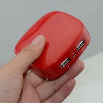6000mA mobile Power bank for iphone, mp3, mp4, digital dv camera, portable emergency power bank