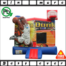 China Basketball Slam Dunk Bounce House For Sports Game