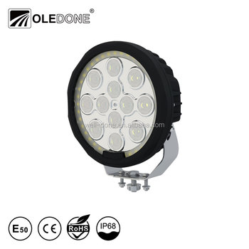 High power round e-mark angel eye 120w led driving light for truck