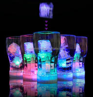 Mini LED Party Lights Square Color Changing LED ice cubes