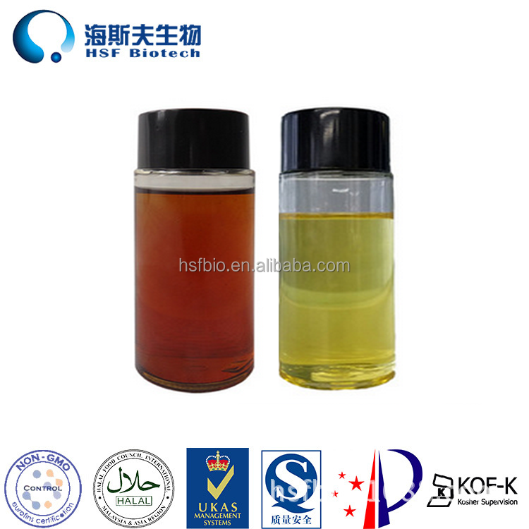 Chinese Factory Supply Soybean Source D-alpha Tocopherol Oil