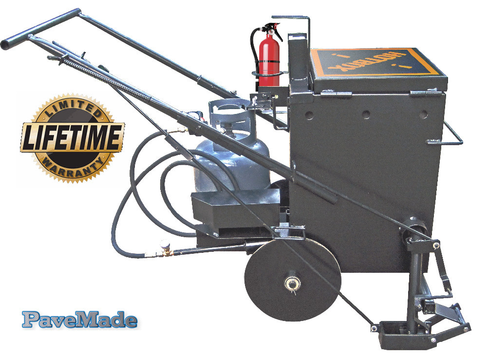 HOTBOX10 asphalt/concrete cracksealing equipment