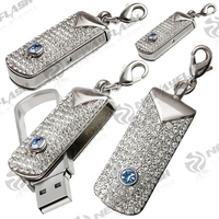 OEM promotional swivel usb flash drive ,electronic gifts keychain