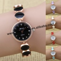 100pcs/lot wholesale price new watche,E-LY001 Epoxy dot bracelet watch