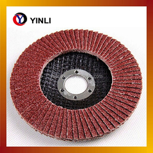 steel metal cutting grinding disc aluminium oxide flap disc