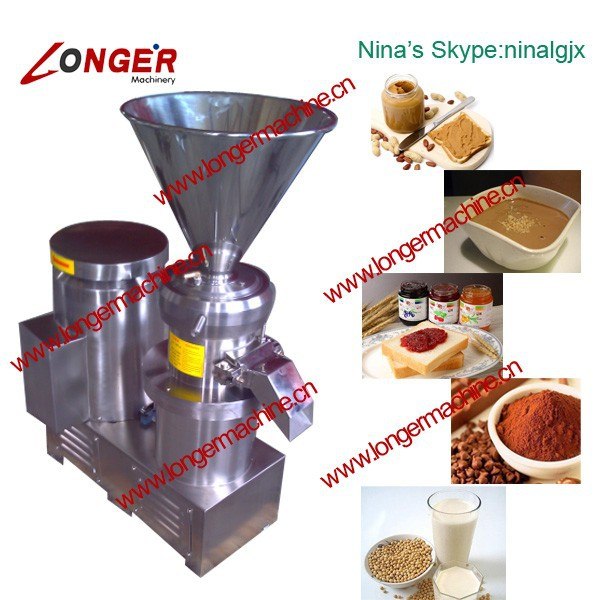 Nut Milk Processing Machine|Hot Selling Sesame Butter Milling Machine