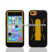 For Apple iPhone 5C Robotic Multi Color Holtser Stand Belt Clip Cover Case