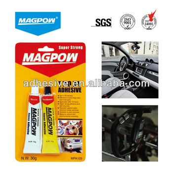 Auto spare parts and hardware epoxy glue