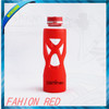 Wenshan 2016 new style glass Bottle with silicone set, sports water bottle portable water bottle