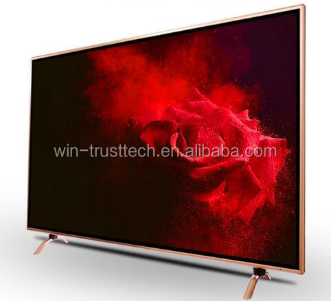 2017 New design 50 / 55 inch android television 4K led tv