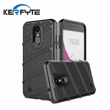 amazon best seller tpu pc 2 in 1 cell phone case carbon fiber phone case for lg k8