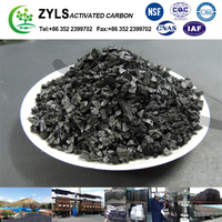 4*8MESH high Iodine bituminous coal based granular activated carbon
