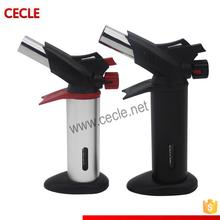 Low price portable hand butane gas jewelry torch lighter torches