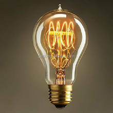 A19 Marconi Style Reproduction Clear Glass Vintage Edison bulb