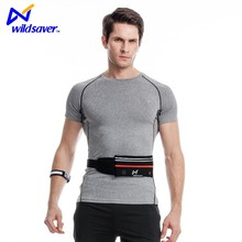 High viz LED reflective safe light up LED waist bag