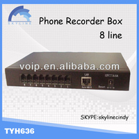 NEW 8 Lines Voice Recorder Usb