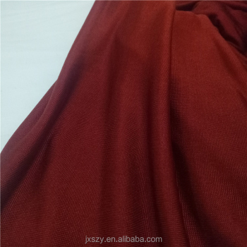 Jersey knit fabric 100% pure silk fabric