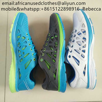 used shoes/men big size sports shoes