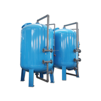 Industrial Cooling Water Filtration System Active Carbon Filter Cylinder