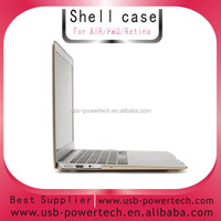 2014 golden Hard shell cover case for MACBOOK Pro 15.4""
