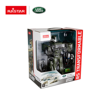 Land Rover to Rastar kit with rc intelligent robot transform car toy